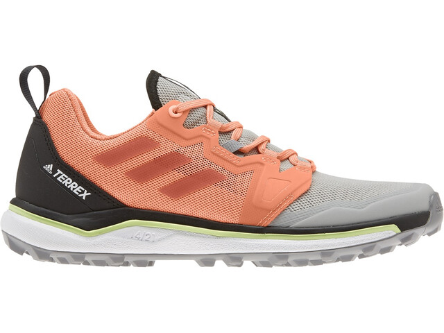 adidas TERREX Agravic Trail Running Shoes Women, grey two/glory amber/amber tint